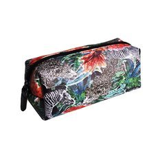 "Jessica Russel Flint Mini Make Up Bag/ ""The Jungle Jungle"""