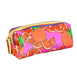 "Jessica Russel Flint Mini Make Up Bag/ ""The Oranges"""
