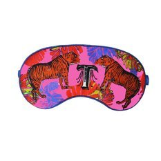 "Jessica Russel Flint Silk Eye Mask / ""T"""