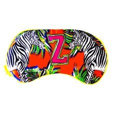 "Jessica Russel Flint Silk Eye Mask / ""Z"""