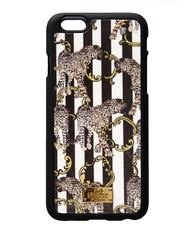 "Jessica Russel Flint ""Striped Leopard"" iPhone 6 Case"
