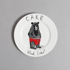 Jimbobart Cake What Cake? Side Plate