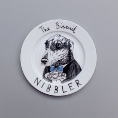 Jimbobart The Biscuit Nibbler Side Plate