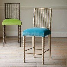 Julian Chichester Bobbin Bar Stool