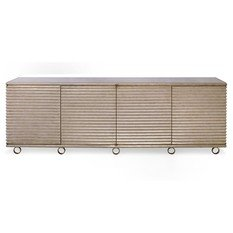 Julian Chichester Portobello Burnished Silver Cabinet