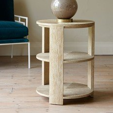 Julian Chichester Tribeca 3 Tier Side Table