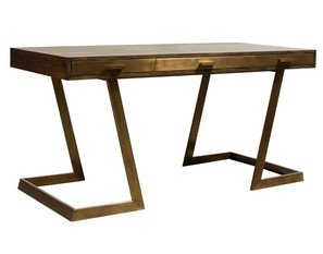 Julian Chichester Onegin Firmdale Grey Oak Desk