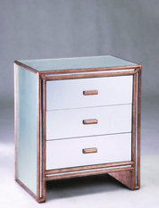 Julian Chichester Temple 3-Drawer Bedside Cabinet