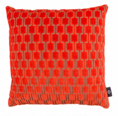 Kirkby Design Bakerloo Cushion Neon Orange