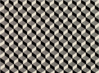 Kirkby Design Dimension Monochrome Fabric