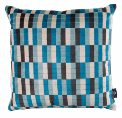 Kirkby Design District Cushion Kingfisher