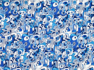 Kirkby Design Frooty Tooty Splash Fabric