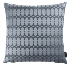 Kirkby Design Loopy Link Cushion Storm