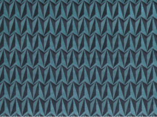 Kirkby Design Origami Rocketinos Teal Fabric