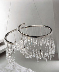 Kolarz Luster Chrome Chandelier