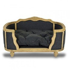 Lord Lou Arthur Anthracite Upholstered Pet Bed