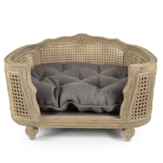 Lord Lou Arthur Charcoal Brown Pet Bed