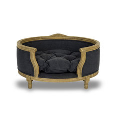 Lord Lou George Anthracite Pet Bed