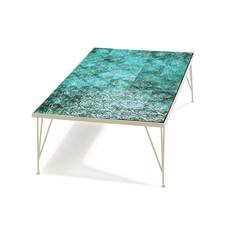 Mambo Unlimited Ideas Caldas Pattern Jade Coffee Table