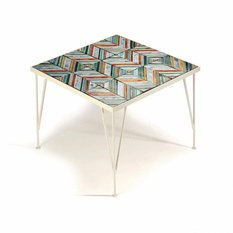 Mambo Unlimited Ideas Caldas Ocean Stripe Table