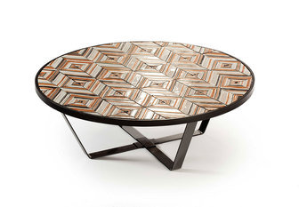 Mambo Unlimited Ideas Caldas Stripes Charm Round Table
