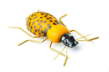 Mambo Unlimited Ideas Fauna Yellow Beetle