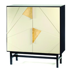 Mambo Unlimited Ideas Jazz Black & Ivory Bar Cabinet