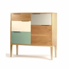 Mambo Unlimited Ideas Muse Oak Bar Cabinet