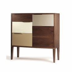 Mambo Unlimited Ideas Muse Walnut Bar Cabinet