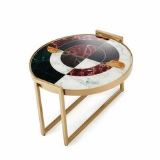 Mambo Unlimited Ideas Norman Wine Printed Table