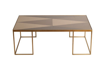 Notre Monde Geometric Rectangular Coffee Table