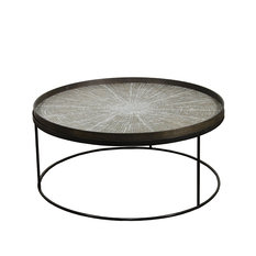 Notre Monde Round Low Tray table