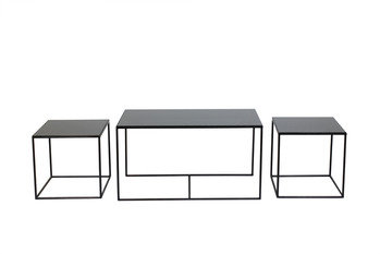 Notre Monde Trinity Charcoal Coffee Table