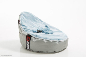 Pouf Daddy Baby Blue Bean Bag Seat