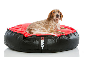Pouf Daddy Pouf Doggy Velvet Chilli Red Bean Bag