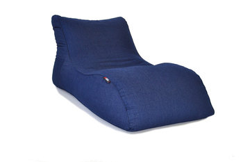 Pouf Daddy The Curve Denim Bean Bag