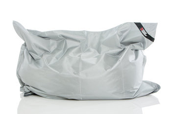 Pouf Daddy The Daddy Silver Large Rectangle Bean Bag