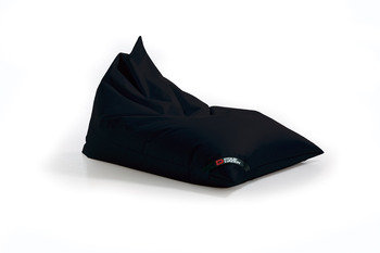 Pouf Daddy The Jubbly Black Original Triangle Bean Bag