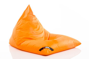Pouf Daddy The Jubbly Orange Original Triangle Bean Bag