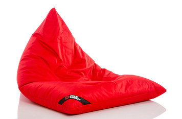 Pouf Daddy The Jubbly Red Original Triangle Bean Bag
