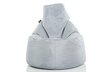 Pouf Daddy The Peardrop Silver Bean Bag