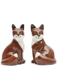 Quail Fox Salt & Pepper Shakers