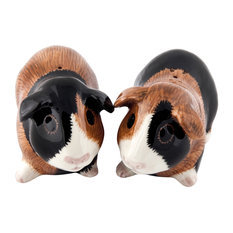 Quail Guinea Pig Salt & Pepper Shakers