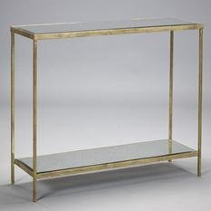 Robert Langford Victor Console Table - Gold