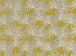 Romo Pacaya Fenugreek Fabric