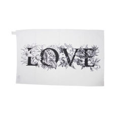 Rory Dobner Love Flowers Tea Towel