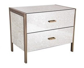R V Astley 2 Drawer Large Bedside