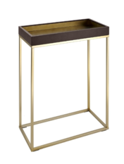 R V Astley Alyn Chocolate Small Console Table