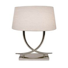R V Astley Arianna Nickel Table Lamp