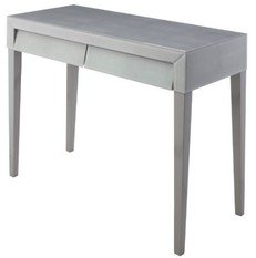 R V Astley Colby Shargreen Dressing Table (Soft Grey)